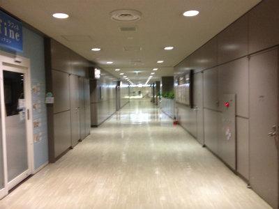 誰もいない成田空港